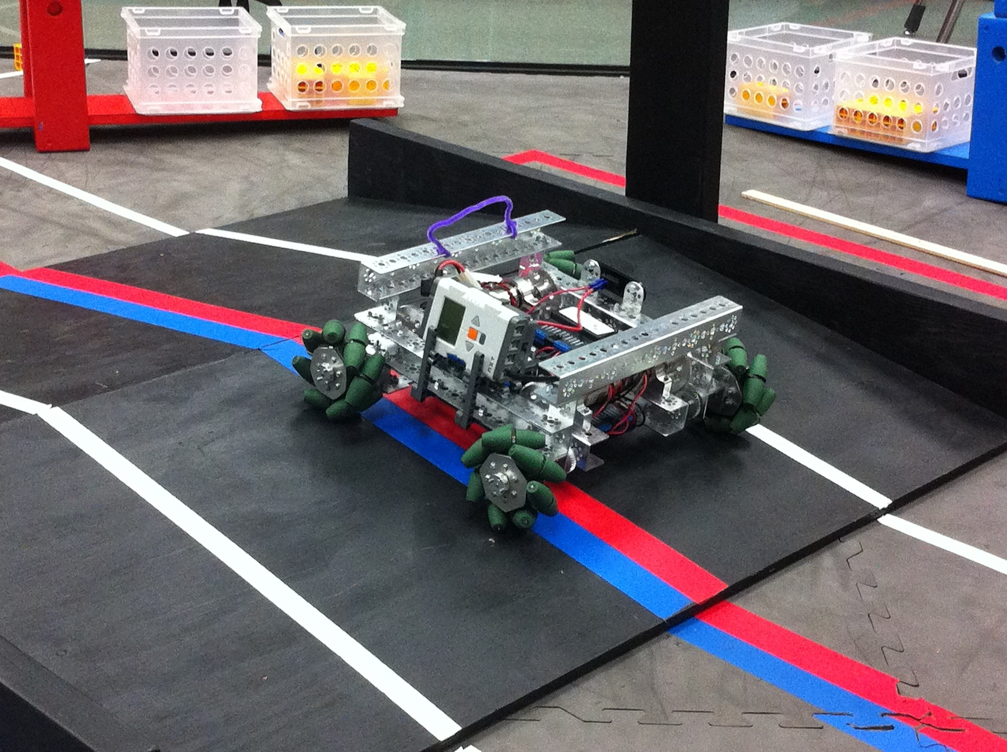 Suit Bots FTC Team 4628 Mecanum drive